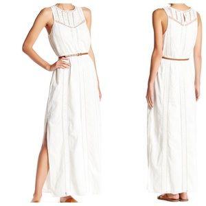 Joie Teviston Maxi Dress in Porcelain NWT